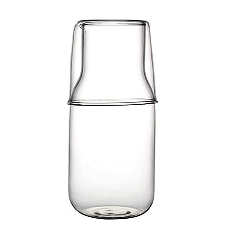 Amazon.com: bouti1583 - Jarra de cristal para té de leche ...