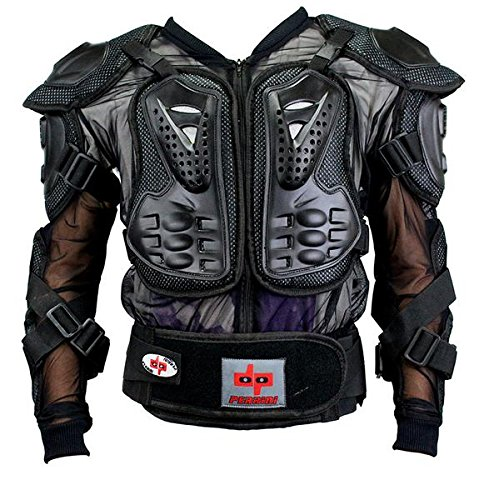 CE Approved Perrini Full Body Armor Motorcycle Jacket by PERRINI