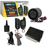 2017 Skytek Car Alarm Vehicle Security system with Keyless entry and 2-way LCD remote control