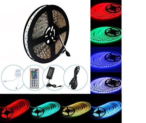 Waterproof 5M 3014 LED Strip RGB 12VDC - 6