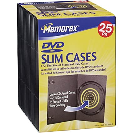 Slim DVD Storage Cases