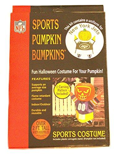 NFL Licensed Sports Pumpkin Bumpkin (New York (New York Jets Halloween Costumes)