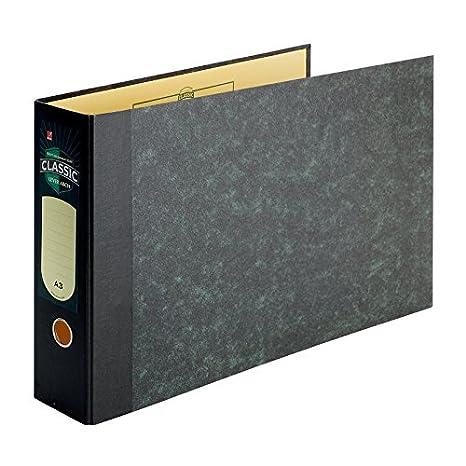 Eastlight Classic - Archivador DIN A3 color negro/gris: Amazon.es: Oficina y papelería