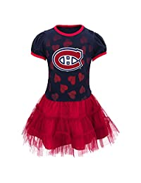 Montreal Canadiens Infant Girls Love To Dance Tutu Dress