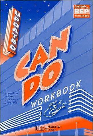 Téléchargement Anglais BEP Can do : Workbook pdf