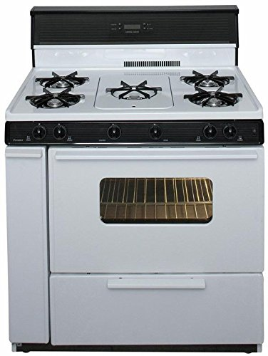 36 gas range black - 6
