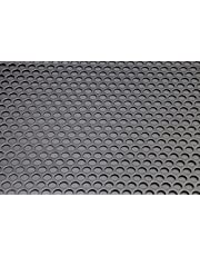 Pack de 3 (A4) 210 mm x 300 mm x 1,5 mm – hoja perforada de aluminio – 10 mm agujero – 15 mm paso