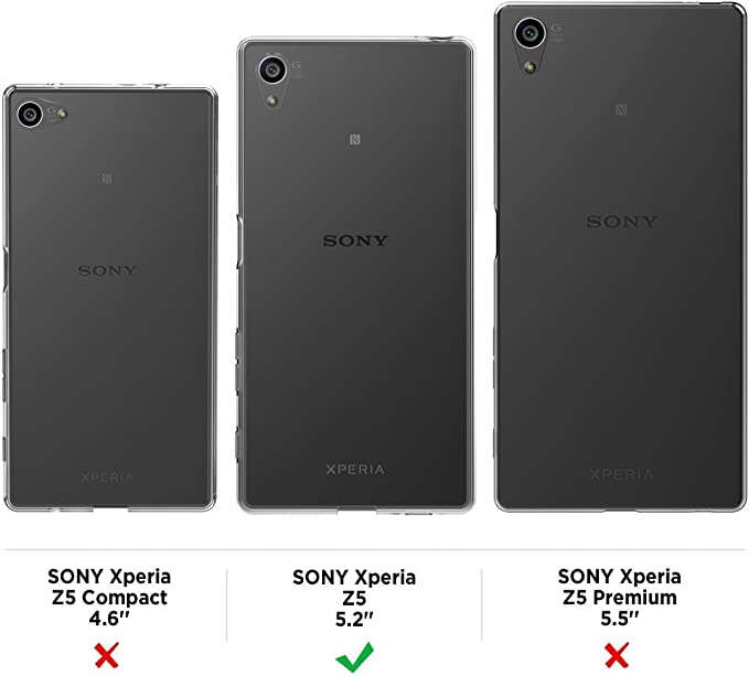Mulbess Funda para Sony Z5, Funda Cartera Sony Xperia Z5 Wallet ...