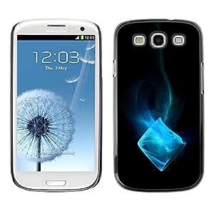 Be Good Phone Accessory // Dura Cáscara cubierta Protectora Caso Carcasa Funda de Protección para Samsung Galaxy S3 I9300 // Blue Ice Cube