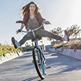 sixthreezero EVRYjourney Steel Women s Hybrid Bike with Rear Rack, 26 Inches, 7-Speed