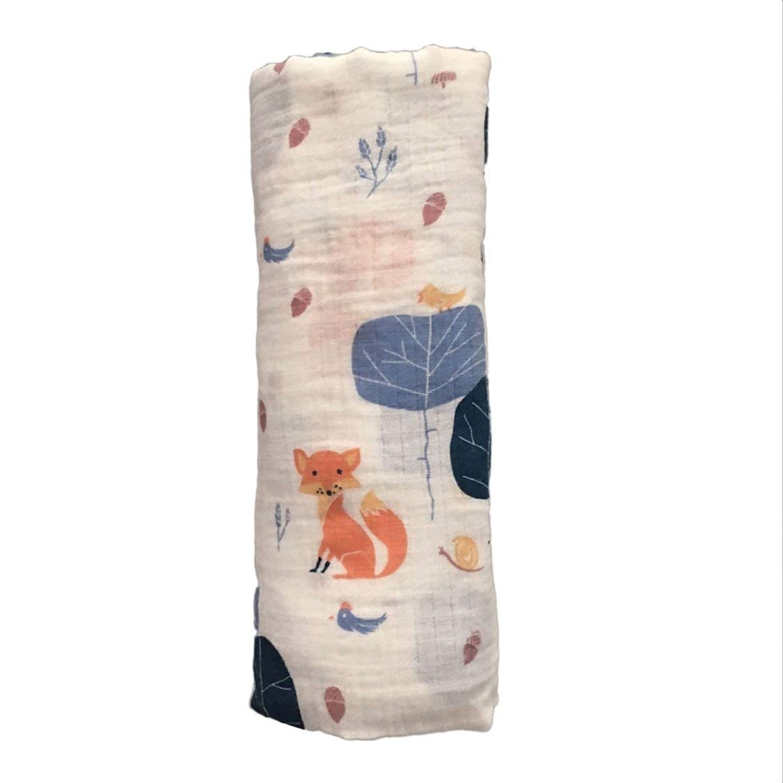 120x120cm Muslin baby swaddle blanket baby swaddle Cotton 100/% Newborn Baby Bath Towel Swaddle Blankets Multi Designs Functions