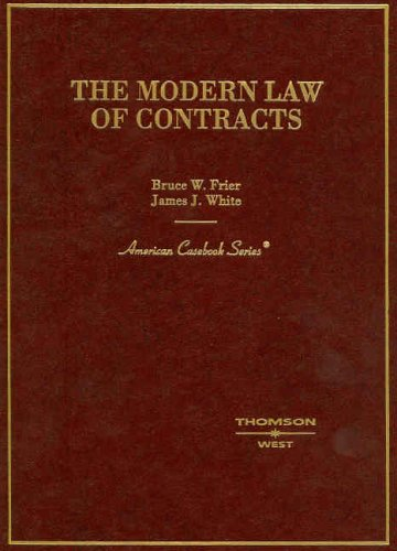Modern Law of Contracts (American Casebook)