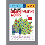 My Book of Cursive Writing: Words (Cursive Writing Workbooks)