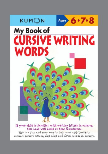 "cursive writing workbooks Cursive handwriting workbook for kids: beginning cursive helps children learn the basics of cursive writing in the most enjoyable and fun way what makes this amazing workbook different from most other workbooks on beginning cursive, is that it provides ""dot to dot""- illustrated exercises to help children understand how exactly to form each cursive letter and how to connect cursive letters."