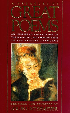Treasury of Great Poems: An Inspiring Collection of the Best-Loved, Most Moving Verse in the English (Count Bbs)