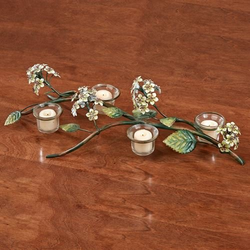 Touch of Class Spring Romance Tealight Candelabra Multi Earth