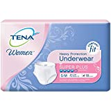 TENA Incontinence Underwear for Women, Protective, Small/Medium, 18 Count