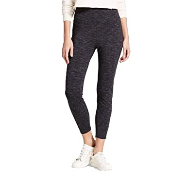 6484a080d18fa Image Unavailable. Image not available for. Color: Mossimo Women's High Rise  Crop Leggings- (Charcoal ...