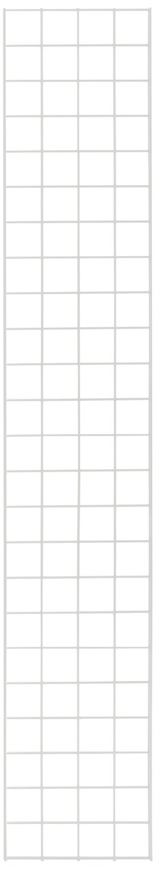 KC Store Fixtures A04238 Gridwall Panel, 1' W x 6' H, White (Pack of 4)