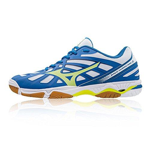 Mizuno Men's Wave Hurricane Volleyball Shoes Blue 3uaKGx8k