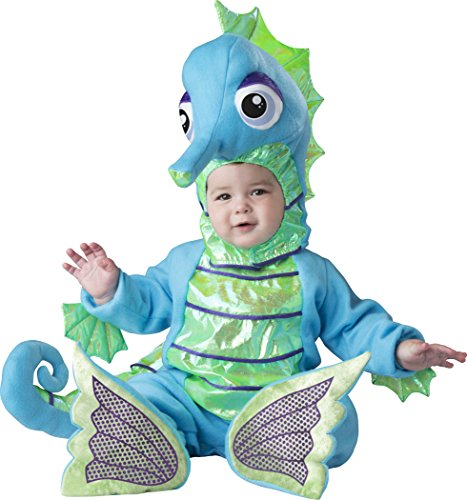 Easy Fish Costumes (Fun World Baby Silly Seahorse, Multi, XS)
