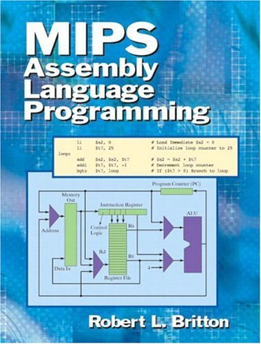mips assembly language programming britton