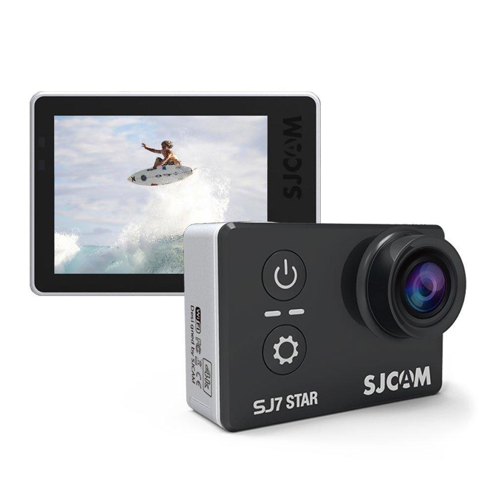 SJCAM® SJ7 Star WiFi Action Camera - Touchscreen, 4K UltraHD, 30M Waterproof, Metal Body, Gyro Stabilization, Time Lapse & Slow Motion, Car Dashcam