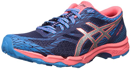ASICS Women's Gel-Fujilyte Trail Runner, Indigo Blue/Silver/Diva Blue, 6.5 M US by ASICS