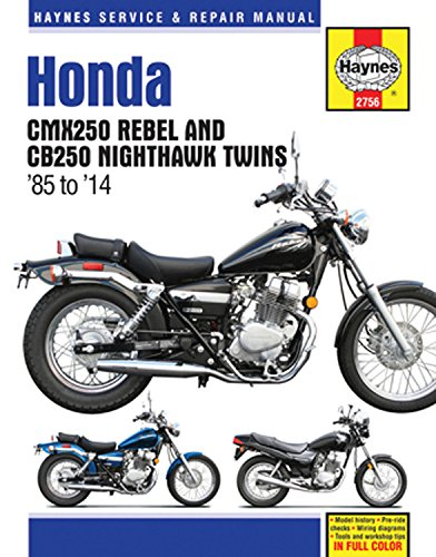 - Honda CMX250 Rebel and CB250 Nighthawk Twins '85-'14 (Haynes Service & Repair Manual)