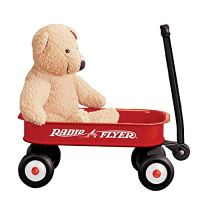 Radio Flyer Little Red Wagon (Discontinued by manufacturer): Toys & Games