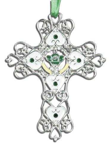 Irish Claddagh Ornament - 3