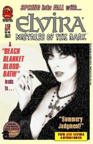 "Elvira Mistress of the Dark #113 in ""Beach Blanket Bloodbath and Summery Judgement!"" PDF"