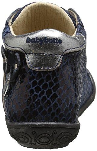 babybotte Anelou - Zapatos Niñas Azul - Bleu (261 Marine)