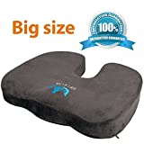 Best Premium Cars - SOFTaCARE Premium BIG Orthopedic Seat Cushion - Coccyx Review