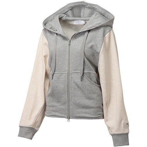 timeless design biggest discount official photos adidas Stella McCartney Grey Hooded Sweat Shirt Top (X-Small ...