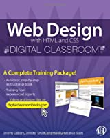 Web Design with HTML and CSS Digital Classroom Front Cover