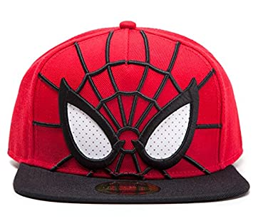 Spider-Man 3D Snapback with Mesh Eyes Hat Cap Marvel Comics The Amazing  Spiderman  Amazon.co.uk  Sports   Outdoors 19d4364422b4