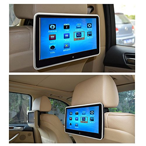 10.1 Inch HD Digital And Wide Screen, Super-Thin Car Headrest Dvd Player With USB And SD And Wireless Game And HDMI and IR Headphone (Dvd R Mitsubishi compare prices)