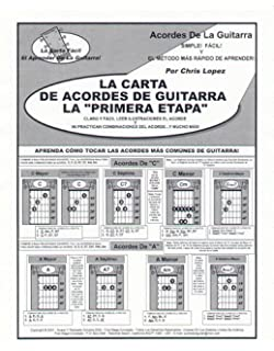 La Carta Del Acorde De La Guitarra De La Primera Etapa - Aprenda Cómo Tocar Los
