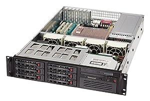 Super Micro SSERVER 6024H8RB 2U DP800-X6DH8-G 500W REDUN BLK ( SYS-6024H-8RB )