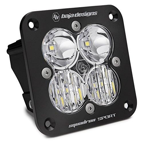 Baja Designs Squadron Sport Flush Mount UTV LED Light Driving Combo Pattern