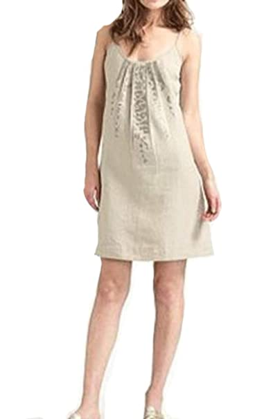 Amazon.com: Eileen Fisher - Vestido de cami (lino orgánico ...
