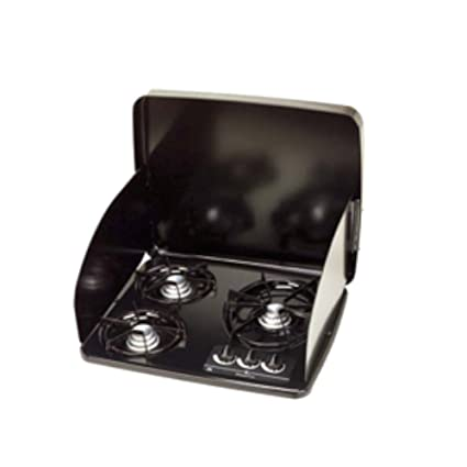 E Cooktops Find The Best Gas Cooktop For Your Boat Or Rv Dometic >> Atwood 56471 Black Drop In 3 Burner