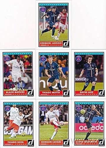 2015-donruss-soccer-paris-saint-germain-complete-team-set-with-zlatan-ibrahimovic-edinson-cavani-thi