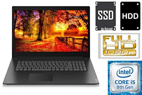 Lenovo V340-17IWL – Intel Core i5 – 256GB SSD + 1000GB HDD – 16GB DDR4-RAM – CD/DVD Brenner – Windows 10 PRO – 44cm (17…