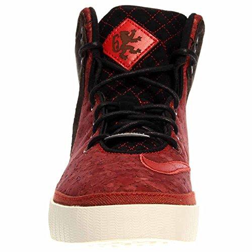 [616766-004] Nike Lebron Xi Nsw Lifestyle Sneakers Da Uomo Nikeblack / Black-varsity Redm 601-university Red / Unvrsty