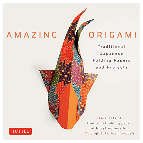 - Amazing Origami Kit: Traditional Japanese Folding Papers and Projects [144 Origami Papers with Book, 17 Projects]