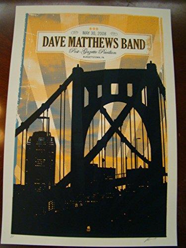 - Dave Matthews Music Poster Dave Matthews Band Methane 2008