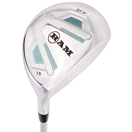 RAM Golf Accubar 16 pc Ladies Right Hand Golf Clubs Set - Graphite Shafted Woods and Irons