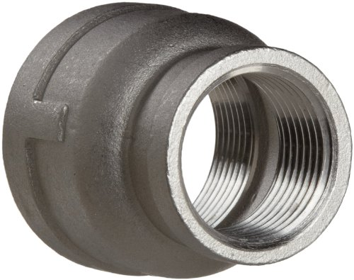 Stainless Steel 304 Cast Pipe Fitting, Reducing Coupling, Class 150, 1